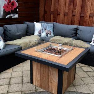 Feuertisch, Fire Pit Table, Table à Feu